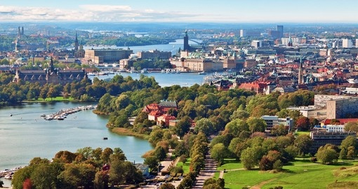 Summer in Stockholm - typically your starting point for all Sweden vacations.