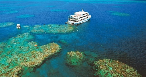 Be one of those people who have seen Great Barrier Reef from the sky on your next Australia vacations.