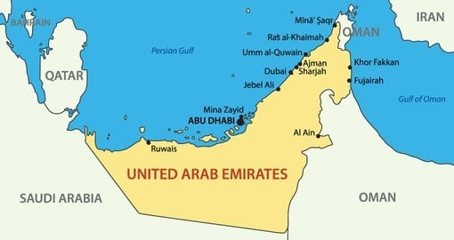 United Arab Emirates | Geography and Maps | Goway