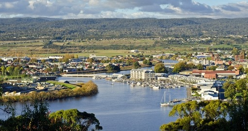 Enjoy beautiful views in Launceston during your next trip to Australia.