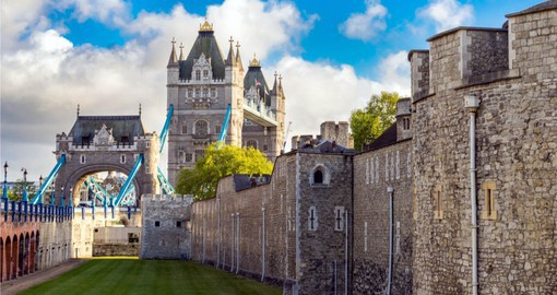 Include Tower Bridge and the Tower of London on your trip to London itinerary