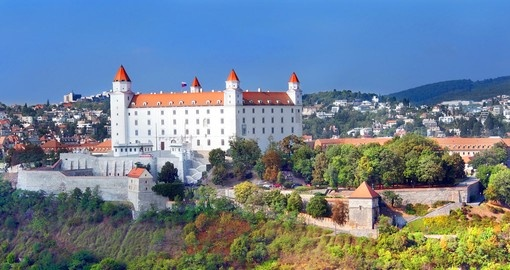 Explore Bratislava Castle in Slovakia during your next Europe vacations.