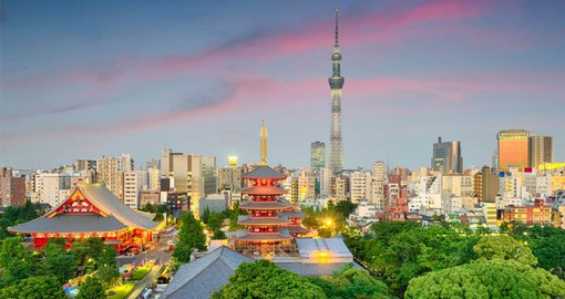 Tokyo became Japan's capital after Emperor Meiji move his seat from Kyoto in 1868