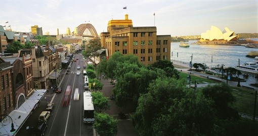 Visit the the Rocks in Sydney during your Australia vacation.