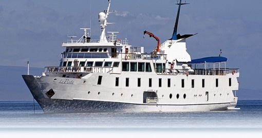 Cruise the pacific on the wonderful La Pinta cruise ship during your Ecuador Trips