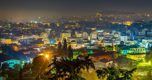 Take a tour of Athens at night during your Greece vacation.