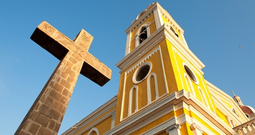 Visit sunny Granada on your Nicaragua Tour