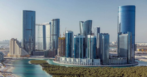 Abu Dhabi is the capital and the second-most populous city of the United Arab Emirates