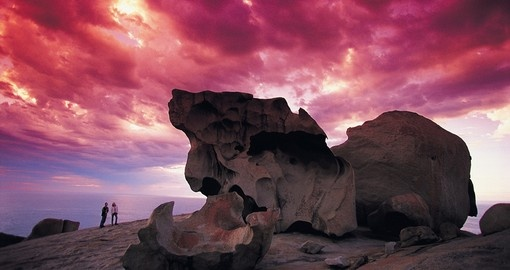 View the Remarkable Rocks as part of your Australia Travel Package