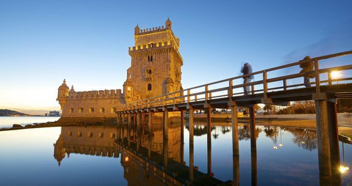 Built in the early 16th century, Belem Tower was used to defend the city