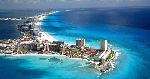 Known as a popular spring break destination, Cancun is a must inclusion on your Mexico vacation