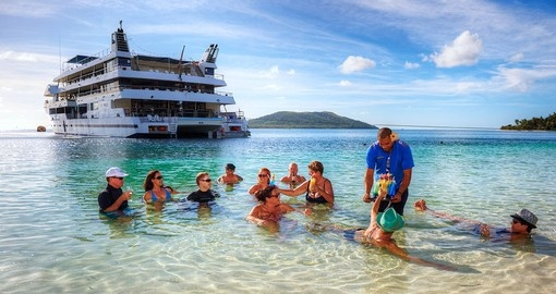 Blue Lagoon Wanderer Cruise Fiji Vacations Goway Travel