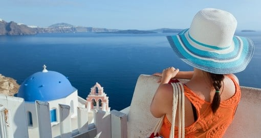 Santorini Island is a popular destination to consider when looking at Greece tours.