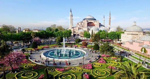 Istanbul, Turkey's cultural and financial hub is on the Bosphorus