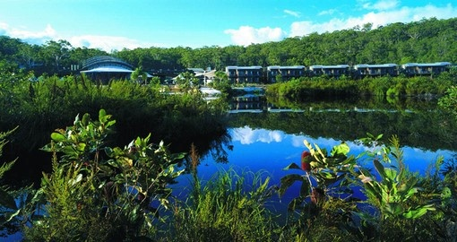 Kingfisher Bay Resort, Fraser Island is your home during your Australia Vacation