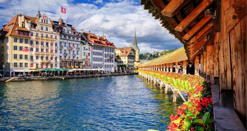 With a beautiful lakeside setting, Lucerne is the gateway to Central Switzerland