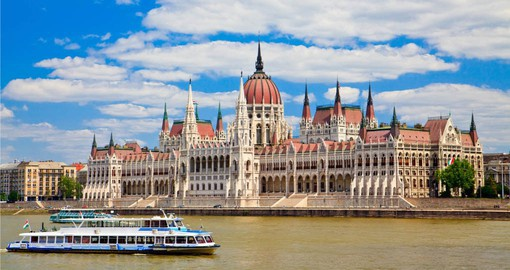 Budapest is an architectural masterpiece, filled with baroque, neoclassical and art nouveau buildings
