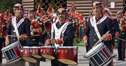 Performance of Military Orchestra of Jordan