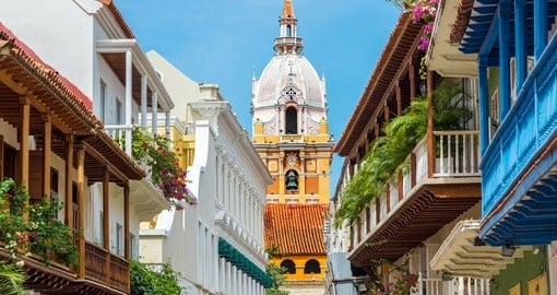 Stunning Cathedral in Cartagena