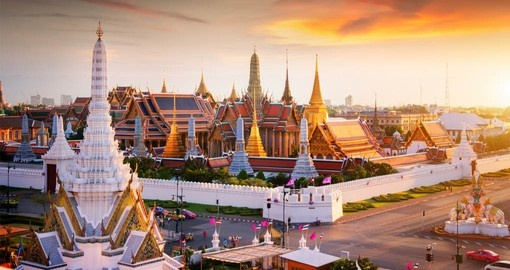 Your Goway Thailand vacation includes a visit to the Grand Palace in Bangkok