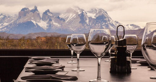 Enjoy Dinner with a view on your trip to Chile