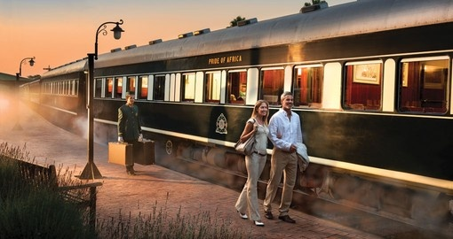 Rovos Rail - the worlds most luxurious train