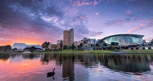 Take a walk on the side of the beautiful River Torrens in the City of Adelaide during your next Australia Tours.