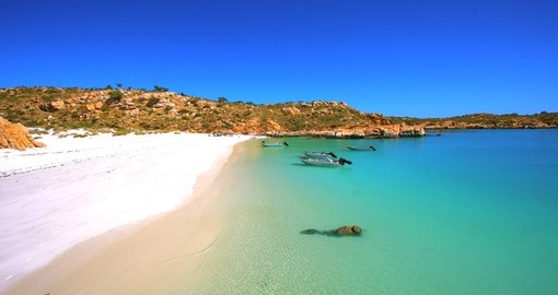 Lay on the beaches of Kimberley during your cruise in Australia