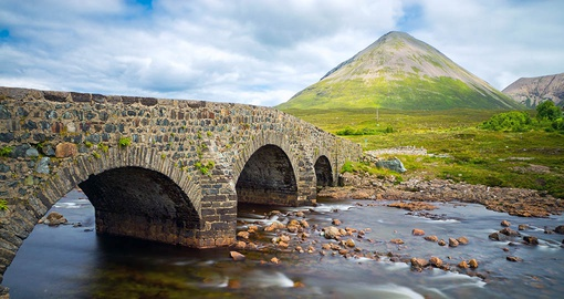 Cross old stone bridges on your Scotland vacation