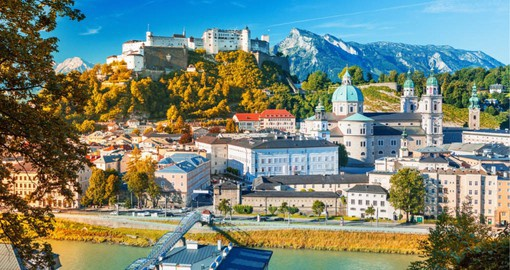 Salzburg, birthplace and childhood home of Mozart