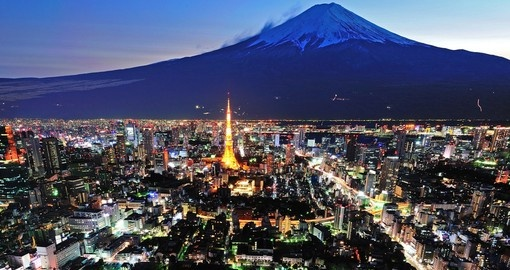 Explore Tokyo before your golf tour