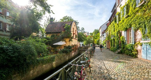 Freiburg, a vibrant university city in Germany's Black Forest