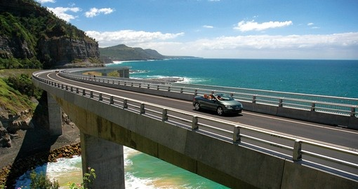 Grand Pacific Drive between Sydney and Woollongong