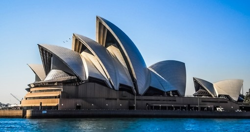Begin your trip to Australia with a visit to the iconic Sydney Opera House