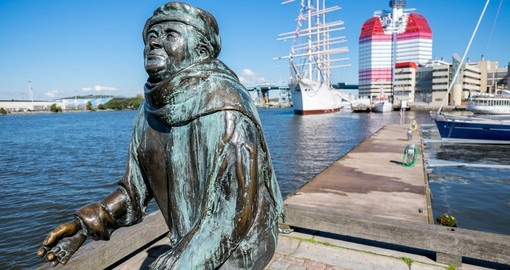 Evert Taube, famous Swedish author, artist, composer and singer