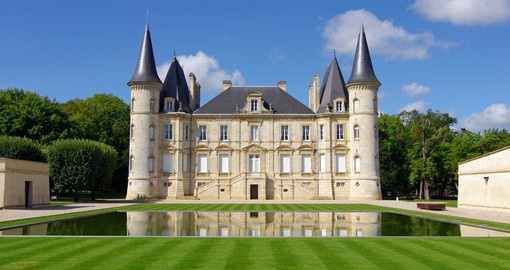 Chateau Pichon Longueville  is one of the great historic vineyards of Bordeaux