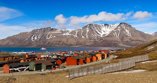Longyearbyen, Svalbard is a tiny Norwegian metropolis with 2,400 residents