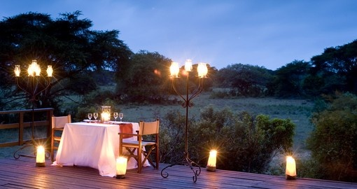 Enjoy all the amenities of the Phinda Forest Lodge  on your next South Africa vacations.