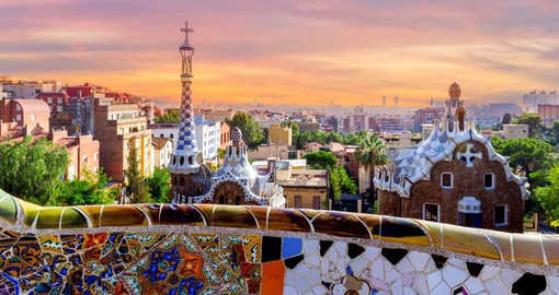 In 1900, Antoni Gaudi was given the assignment of designing Barcelona's Park Guell