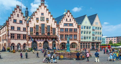 Explore Frankfurts historic neighbourhood on your Germany Tour