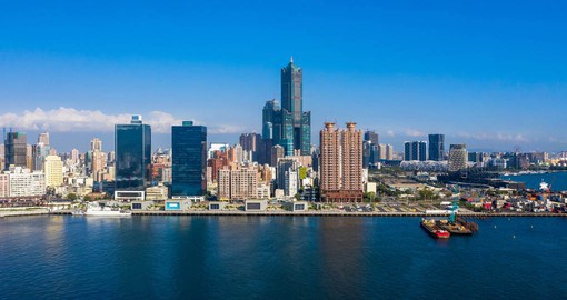 Kaohsiung, Taiwan's second-largest city is a home to excellent museums and cafes