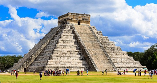 The ancient Mayan city of Chichen Itza covered an area of 10 square kms