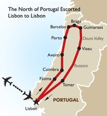 The North of Portugal Escorted Lisbon to Lisbon
