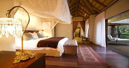Stay in comfort at Dulini Private Game Reserve during your South Africa vacation.