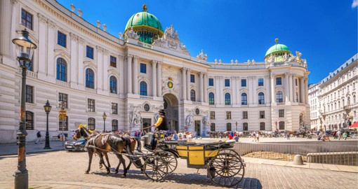Hofburg once the principal imperial palace of the Habsburg dynasty is today the official residence of the President of Austria