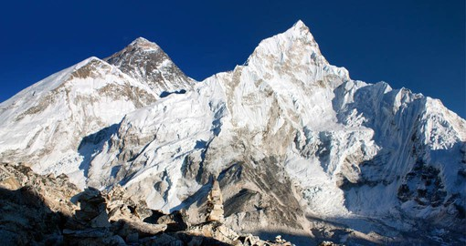 Soar above the sky and fly over Mount Everest during your Nepal Vacations