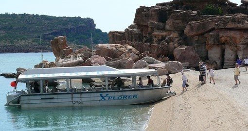 Experience cruising on Explorer Kimberley during your next Australia tours.