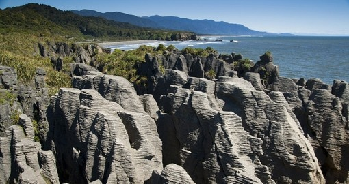 Explore Pancake Rocks on your next New Zealand vacations.