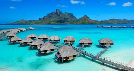 It feels like a real paradise if you stay on Overwater Bungalows during your next Bora Bora vacations.