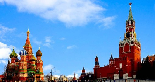 Walk on the Red Square Moscow and explore the city's most famous place during your next trip to Russia.